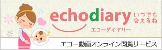 エコー動画オンライン閲覧サービス「echodiary」